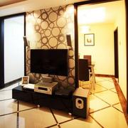靓丽三室两厅客厅设计