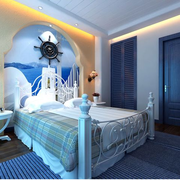 时尚地中海卧室设计