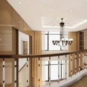 时尚跃层式住宅楼梯装修设计