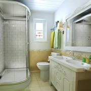 现代法式卫生间装修设计