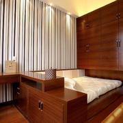 时尚卧室榻榻米设计