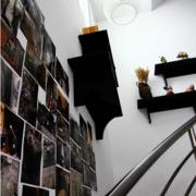 清新楼梯照片墙装修
