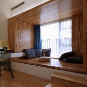 复古小户型卧室榻榻米装修