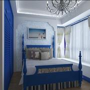 精致地中海卧室设计