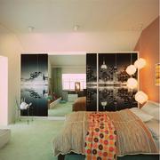 精致别墅卧室窗帘装修设计
