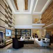 现代别墅大厅装修设计