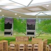 自然幼儿园墙饰装修设计