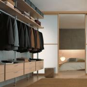 朴实三室两厅两卫步入式衣帽间设计