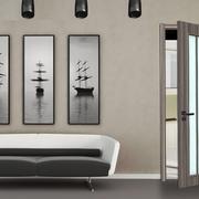 现代客厅tata木门装修设计