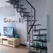 潮流阁楼楼梯装修效果图