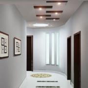 大气酒店走廊吊顶设计