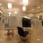 靓丽时尚美发店装修效果图