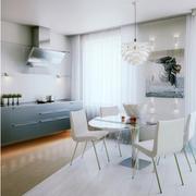 简约女式公寓餐厅设计