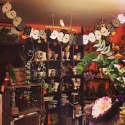 复古花店装修设计
