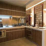 精致大户型厨房橱柜设计