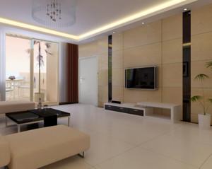 高级公寓室内马可波罗瓷砖地板砖装修图片