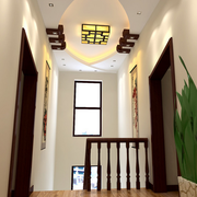 清新中式客厅装修设计