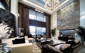 豪华别墅窗帘装修设计