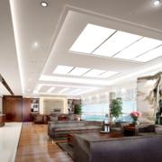 大气办公室走廊吊顶设计