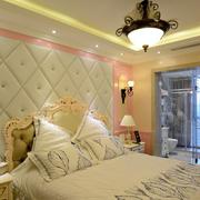 清新欧式别墅卧室装修设计
