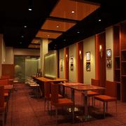 古典餐馆设计
