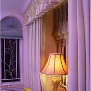 素雅别墅窗帘装修设计