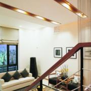 经典复式楼走廊吊顶设计