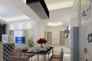 精致三室两厅吊顶装修设计