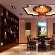 中式大气酒柜设计