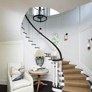 时尚阁楼楼梯装修效果图