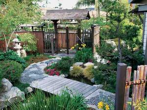 精致别墅入户花园设计