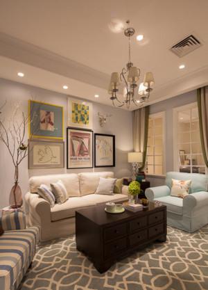 2015全新客厅沙发电视墙图片集锦