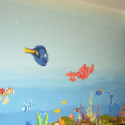 简约幼儿园墙绘设计装修