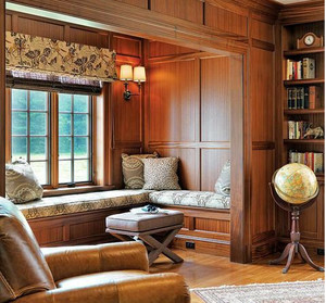 精致美式别墅飘窗装修设计