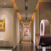 典雅客厅走廊吊顶设计