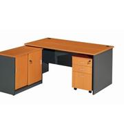 朴素简约电脑办公桌装修
