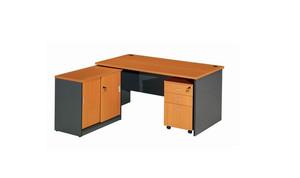 现代简约创意电脑办公桌图片展示