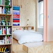 清新卧室榻榻米装修设计