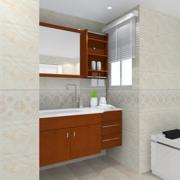 简约小户型卫生间瓷砖设计