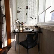 现代简约都市单身公寓时尚阳台