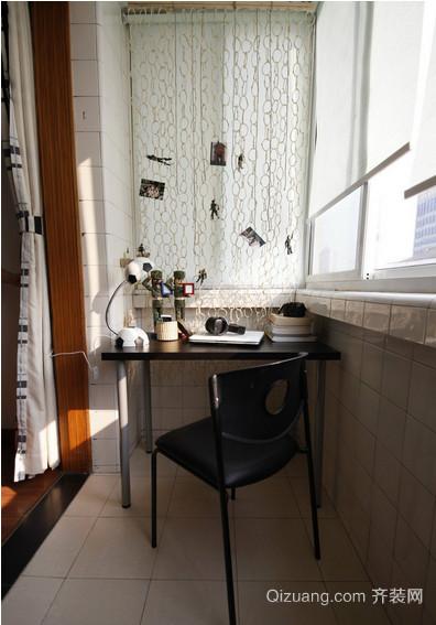90平米现代简约都市单身公寓装修效果图
