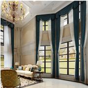别致欧式别墅窗帘装修设计