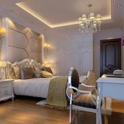 素雅二居卧室飘窗设计