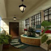 经典大型别墅入户花园装修