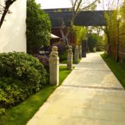 素雅中式别墅庭院绿化设计