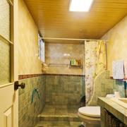 朴实小卫生间装修效果图