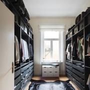 时尚三室两厅两卫步入式衣帽间设计