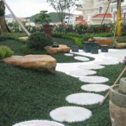 都市中式别墅庭院绿化设计