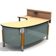 精装简约电脑办公桌装修