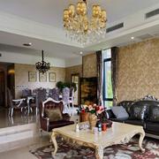 清新大户型客厅设计
